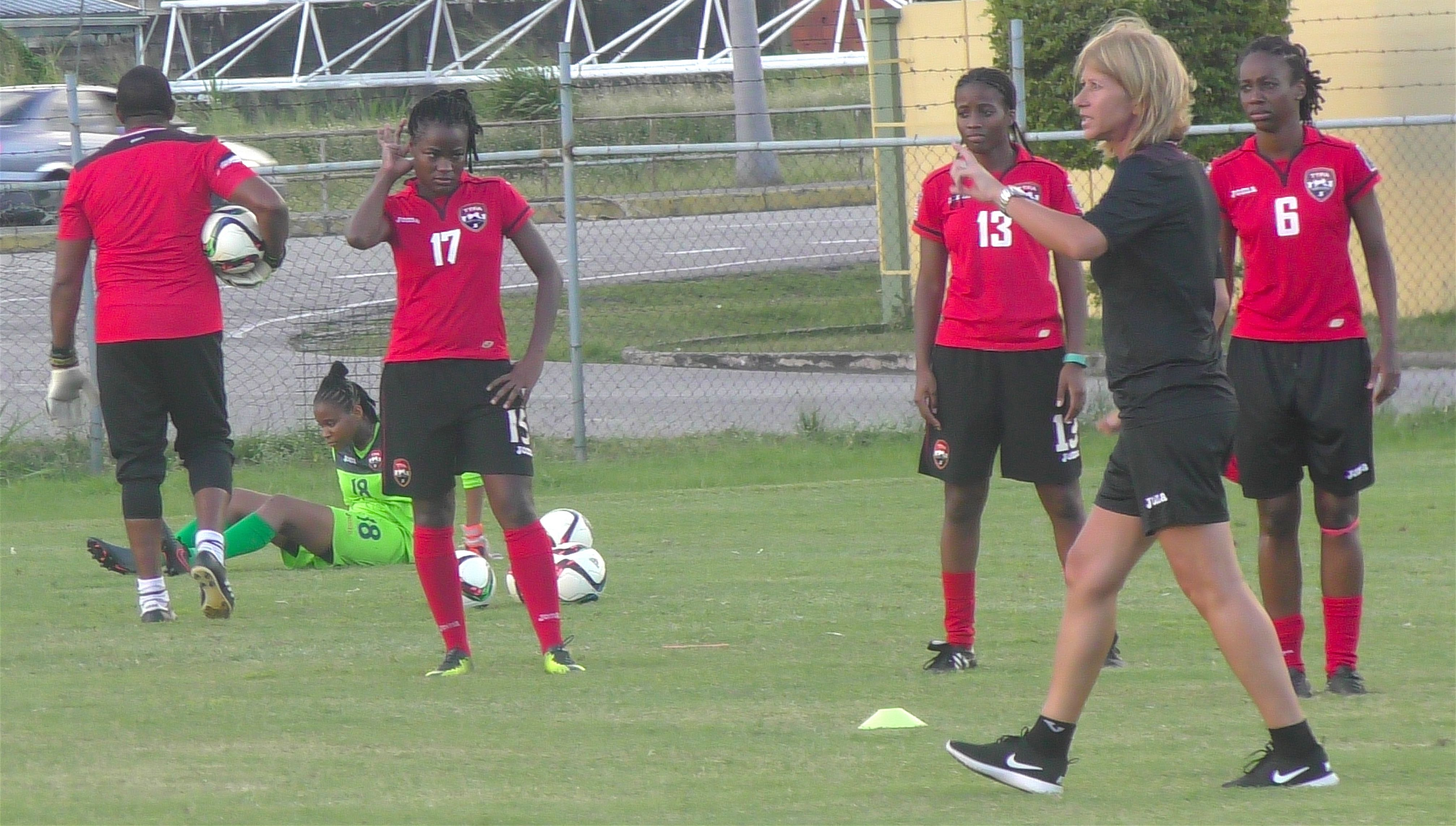 Morace presses on with Women's team preparations.