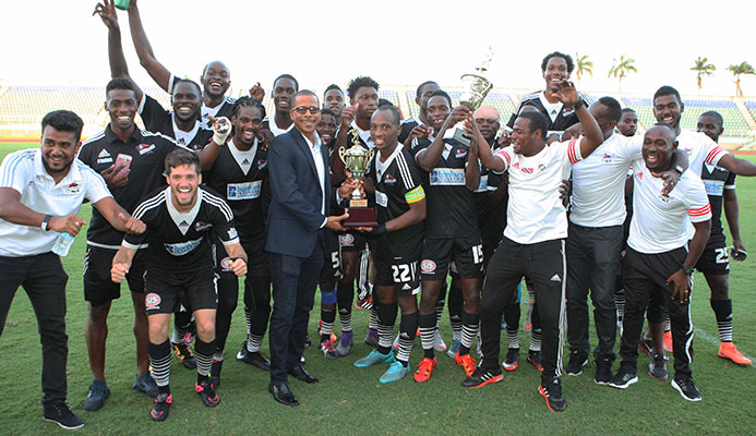 Central FC retains Digicel Pro League crown.