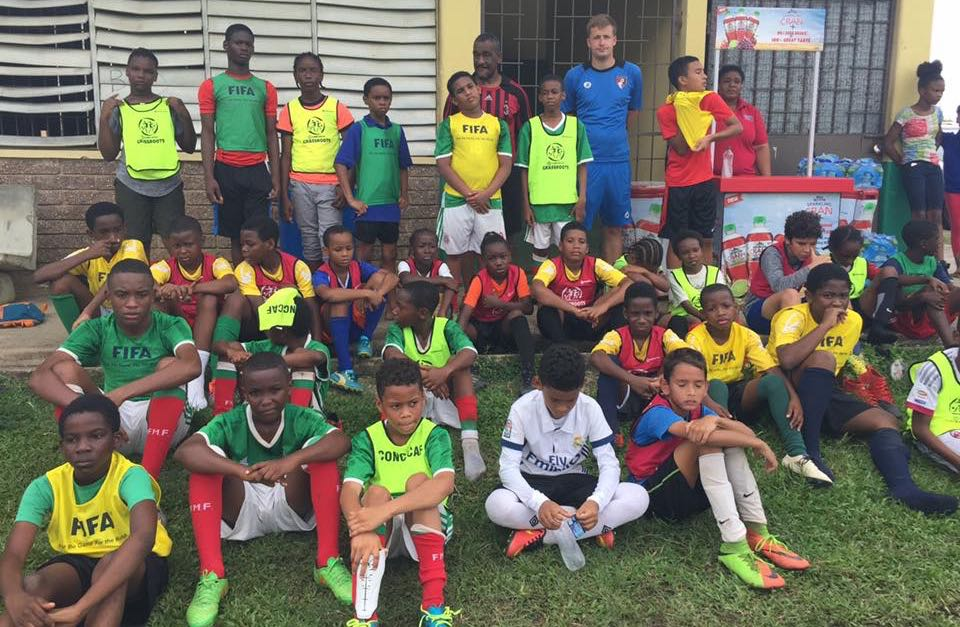 TTFA Grassroots Festival goes to Westmoorings and Moruga.