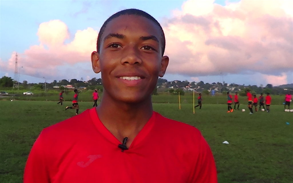 Elite U-15 member Josiah Wilson dreams of World Cup stage.