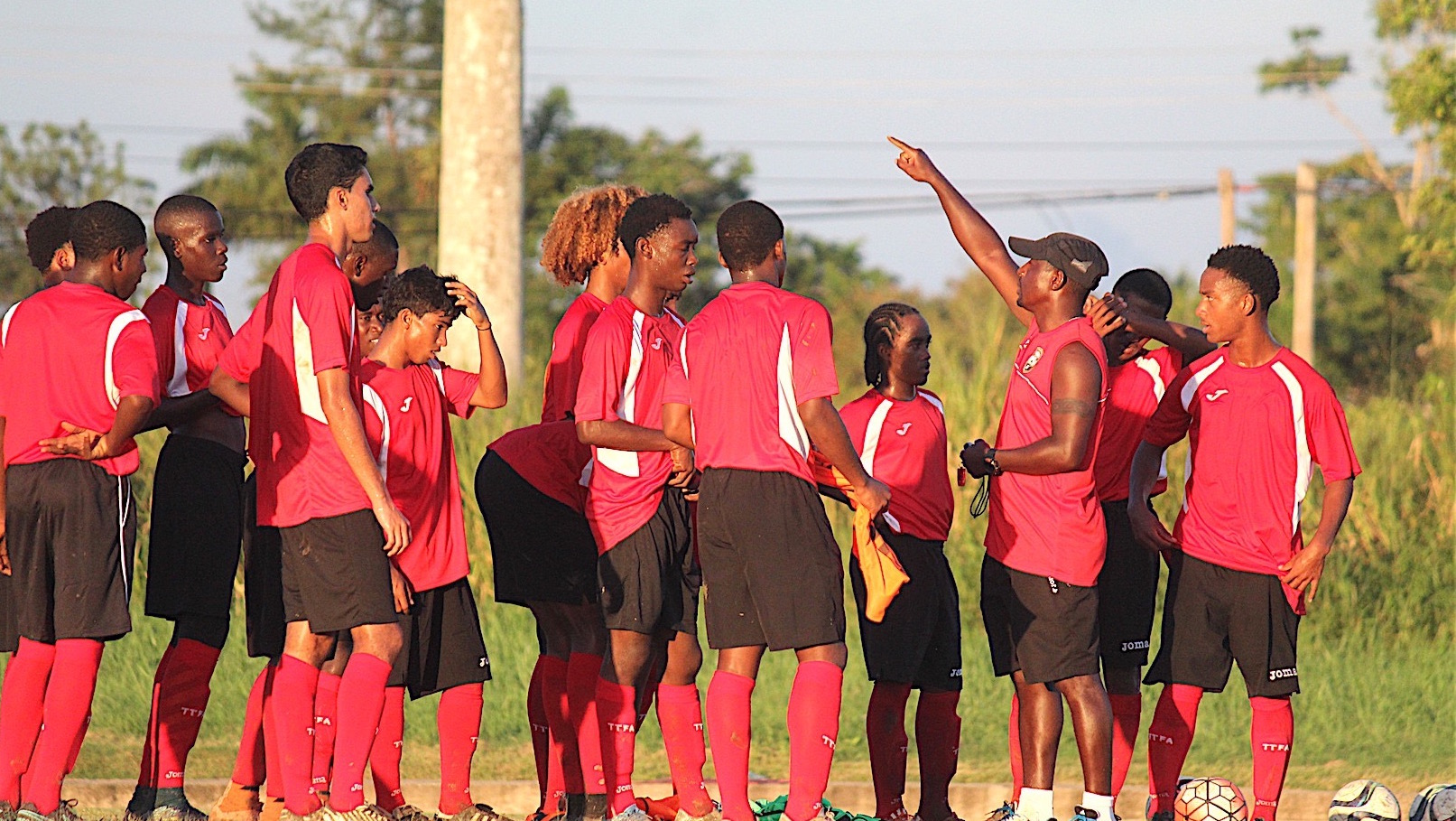 Latapy finalised U-15 Squad for Concacaf Championship.