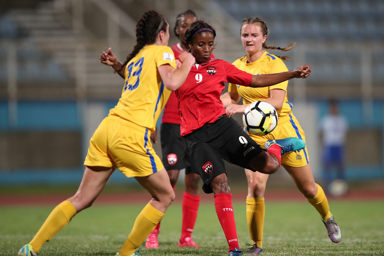 T&T Women cruise past USVI in CONCACAF Caribbean opener.