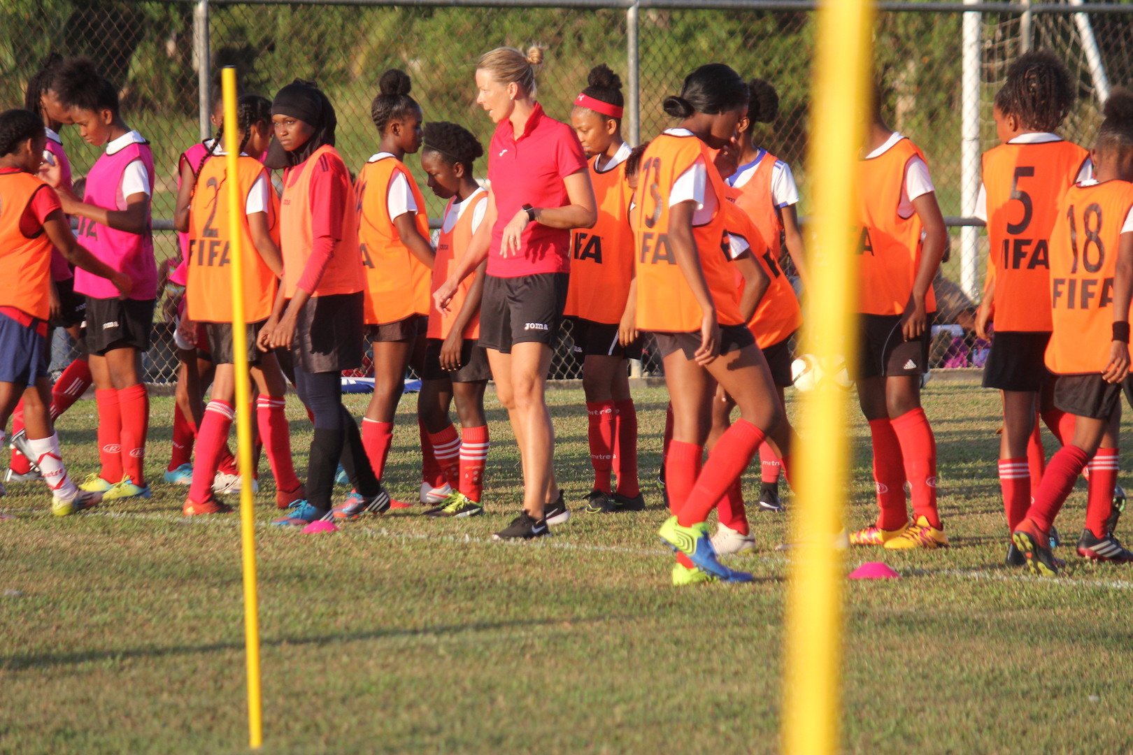 Williams says U-20 women adapting well.