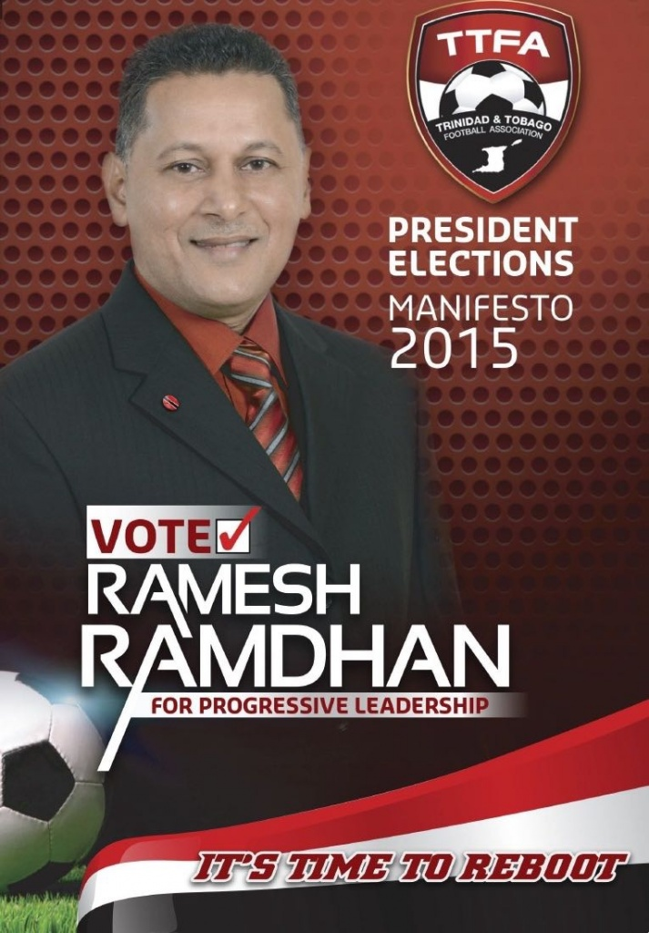 Ramdhan checks in‏ as election heats up.