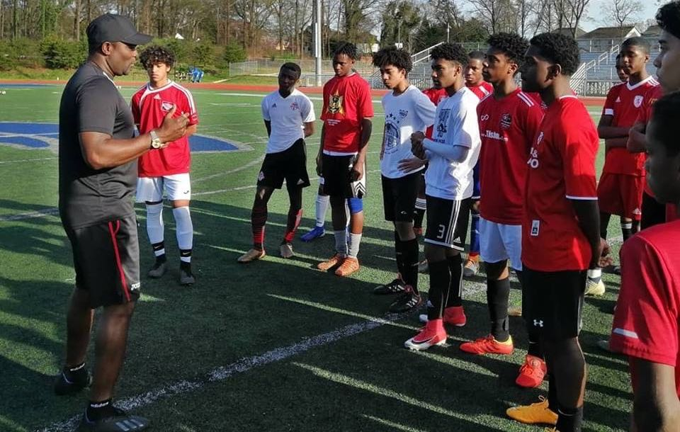 John scouts U-17 talent at Combine in Atlanta.