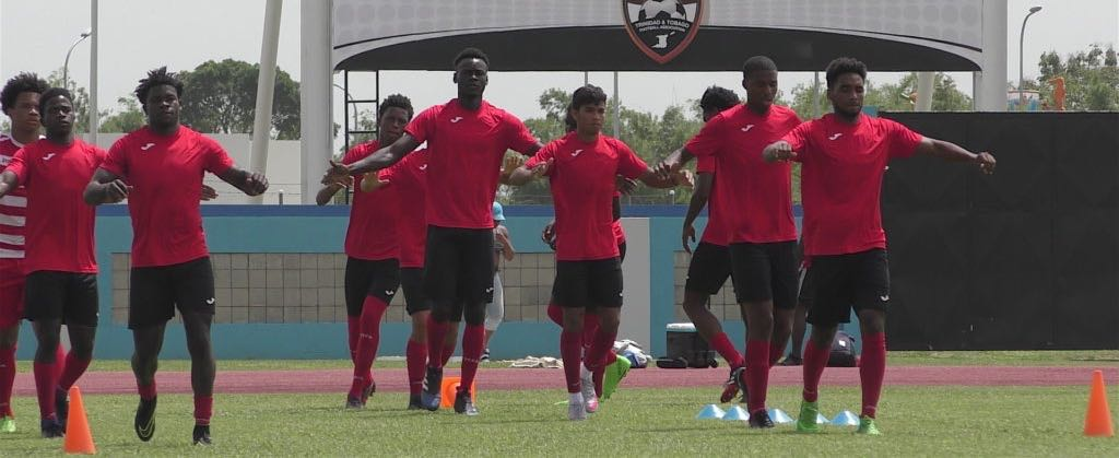 T&T Under 20 Men step up preparations for CAC Games.