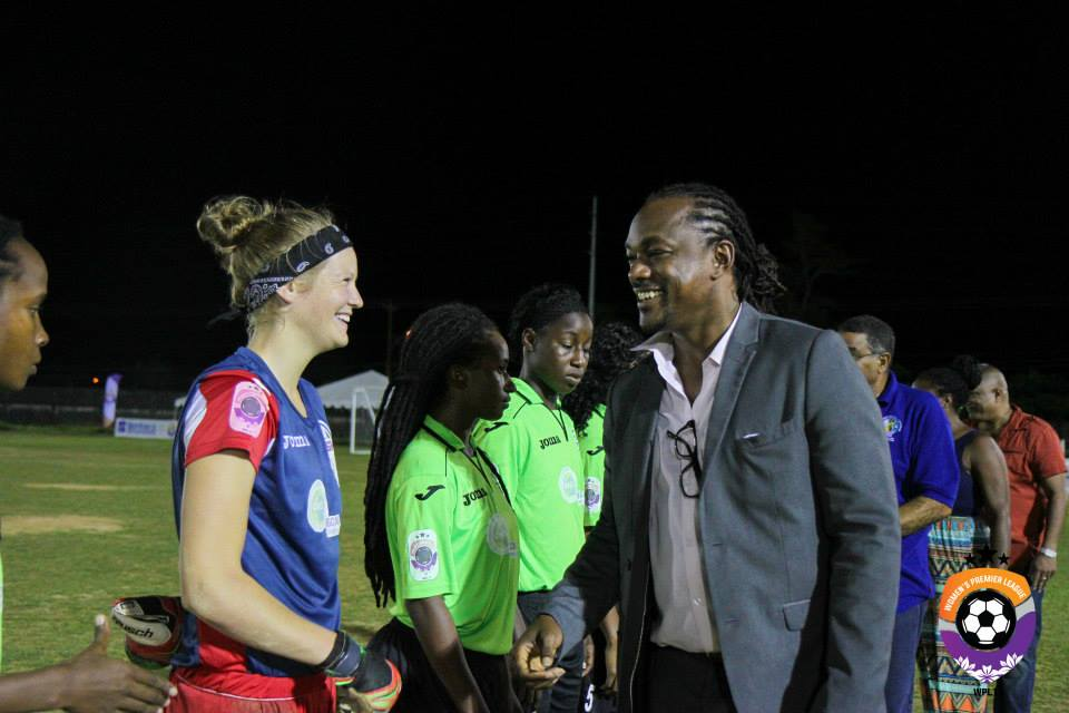 T&T women fly out to Pan Am games; Sancho's intervention saves day for footballers.