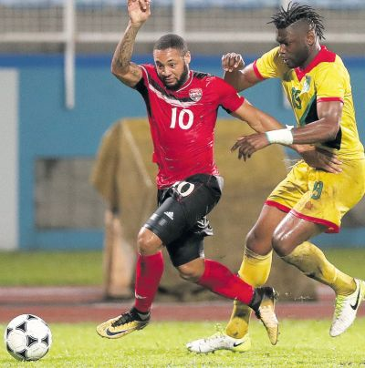 Winchester earns T&T a stalemate against Guyana.