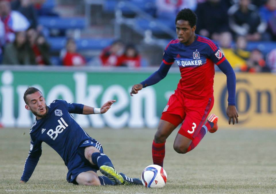 Jones remains with Chicago Fire.
