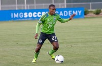 Seattle Sounders forward Cordell Cato