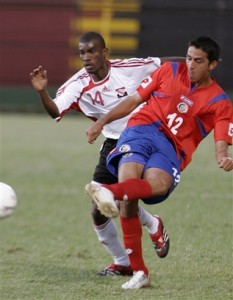 Kerry Baptiste #14 vs Costa Rica