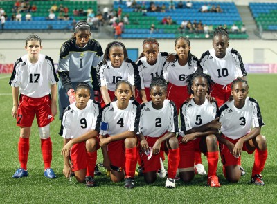 T&T Under 15 now Under 17 women team