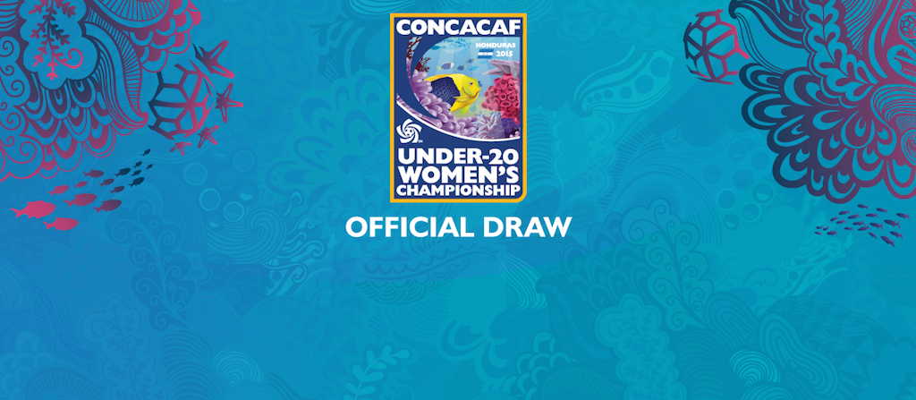 2015 CONCACAF U-20 Women's Championship official draw