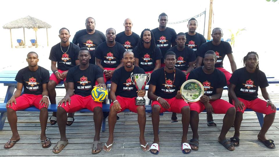 2015 Lucayan Cup Beach Soccer Champions: Trinidad and Tobago