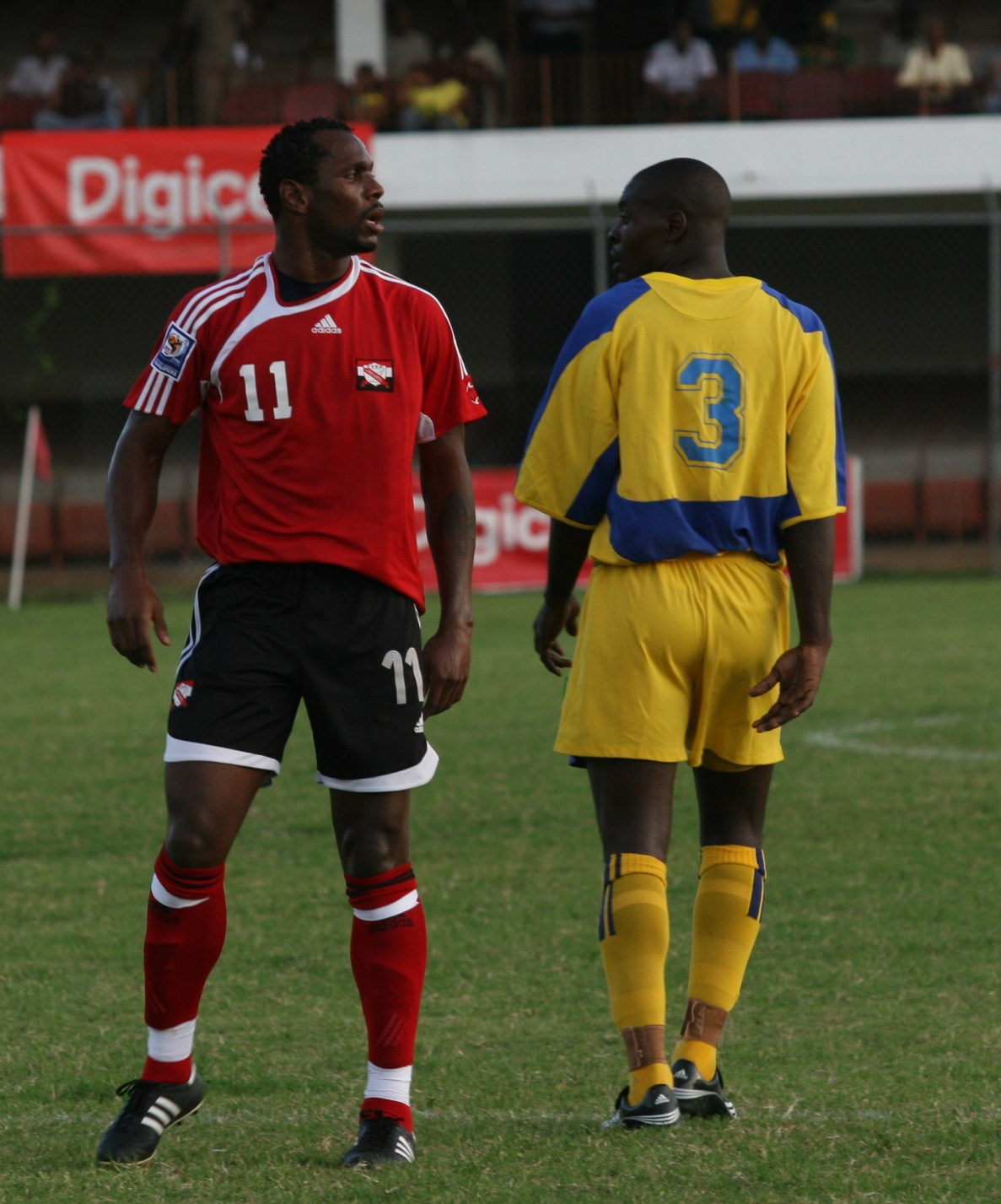 #11 Errol McFarlane saves the day for T&T.