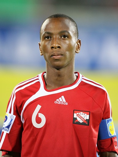 Trinidad and Tobago midfielder Leston Paul