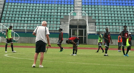 T&T Team in training.