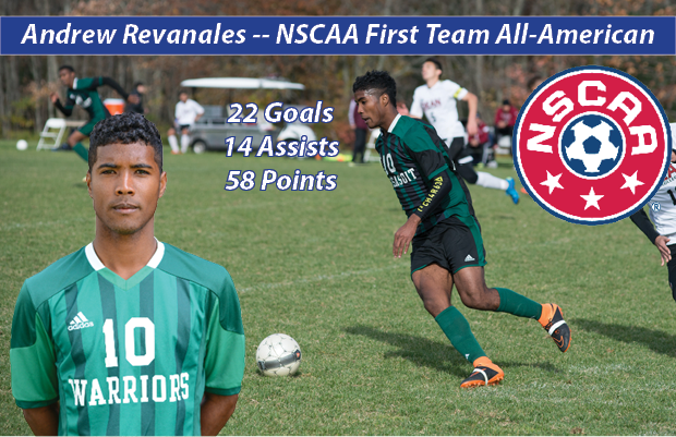 Andrew Revanales (NSCAA All-American)