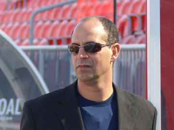 Canada's Trinidad-born head coach Stephen Hart