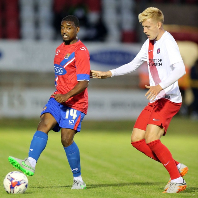 Andre Boucaud in action for Dagenham & Redbridge