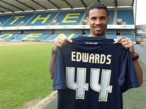 Carlos Edwards signs permanently for Millwall