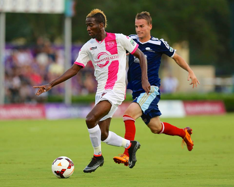 Kevin Molino vs Harrisburg City Islanders on August 16, 2014