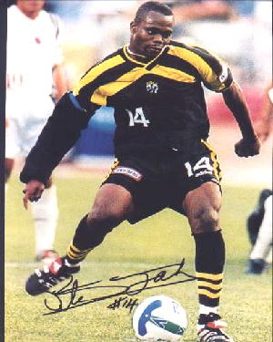 Stern John in his Columbus Crew days.