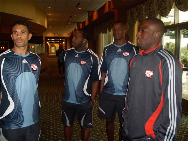 Players at de hotel.