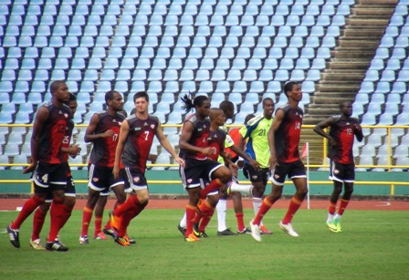 T&T team in training - Photo Credit to TTFF Media.