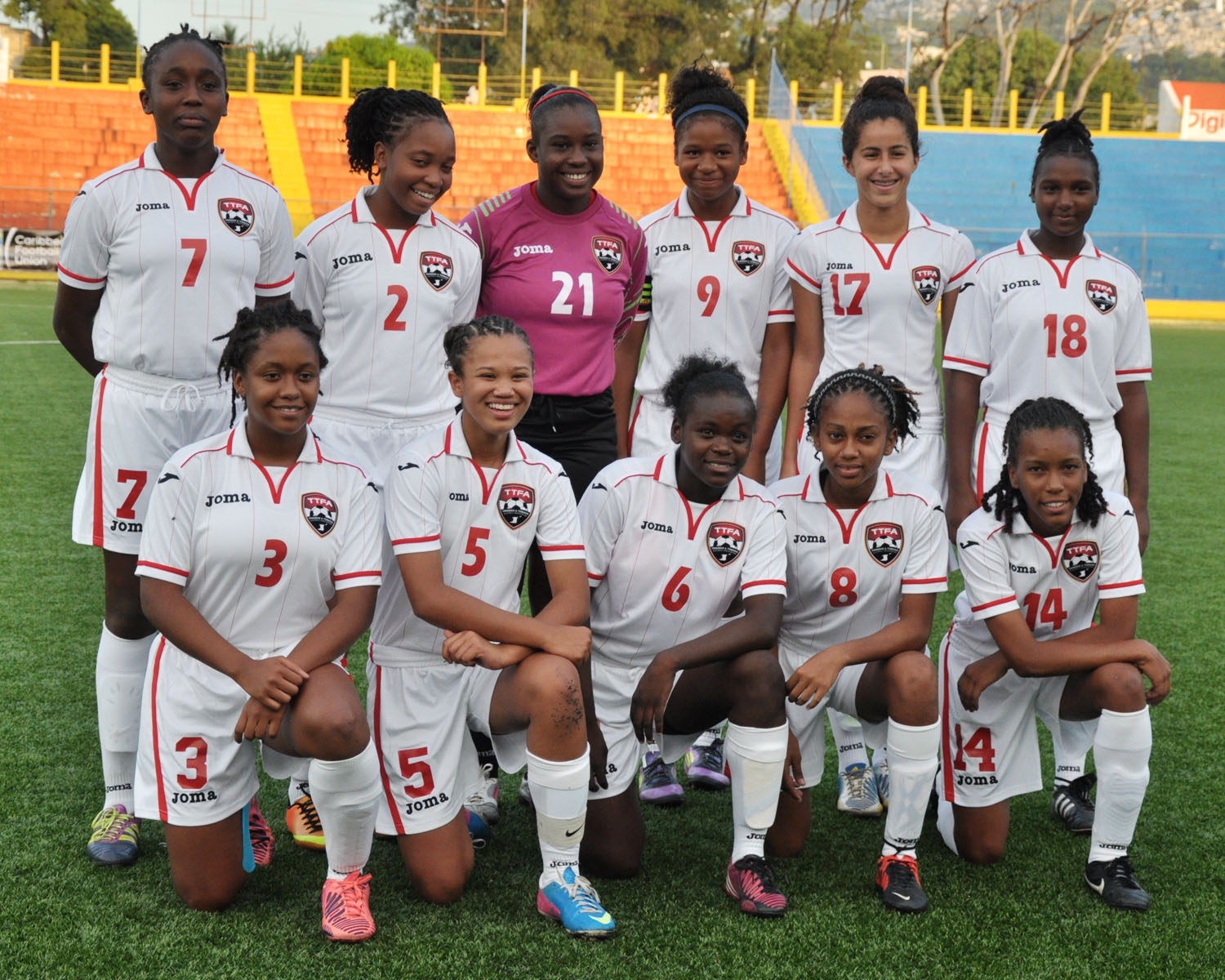 T&T Women's U-17 vs Bermuda