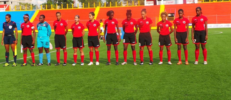 2015 T&T Women's U-20 Team at the CFU Championships