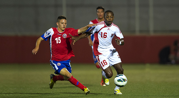 Levi Garcia vs Costa Rica (Photo: CONCACAF.COM).