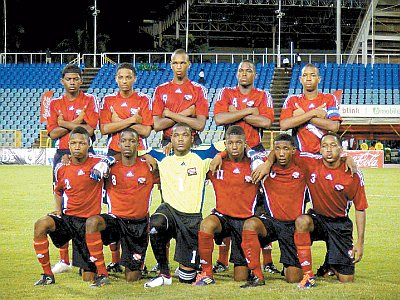 T&T U-17 team (Photo: Shaun Fuentes).......