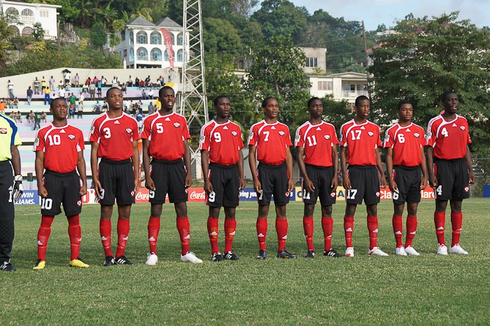 Under 17 team standing tall in Jamaica !
