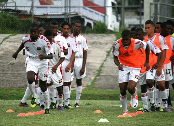 Team training in St Vincent - Photo: Shaun Fuentes (TTFF).