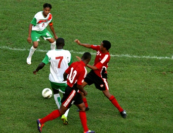 U20 team vs Suriname (Photo - Shaun Fuentes)......