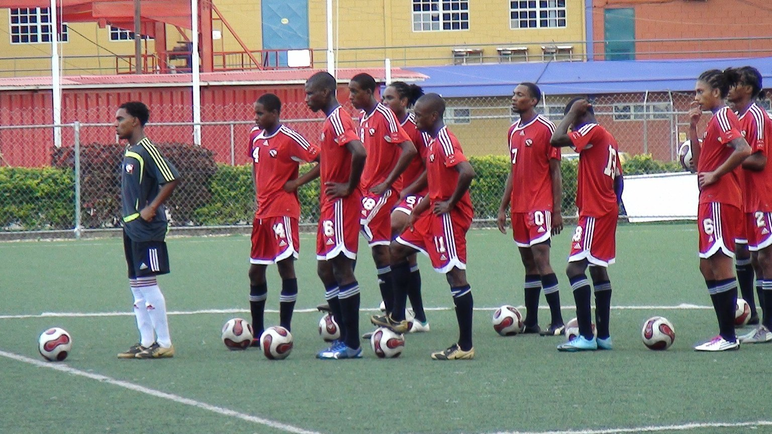 U-20 team in training (photo: TTFF Media).
