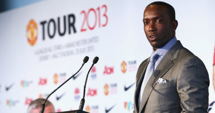 Dwight Yorke as Manchester United ambassador