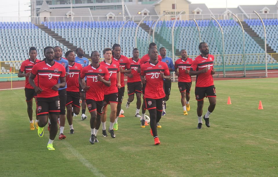'Warriors' back in training for Nicaragua.