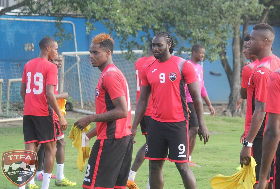 T&T's early morning training session at the Sawgrass Grand Hotel training facility in Sunrise, Ft. Lauderdale - Day 1. The Soca Warriors are preparing for their CONCACAF Gold Cup opener against Guatemala on July 9th at Soldier Field, Chicago (TTFA)
