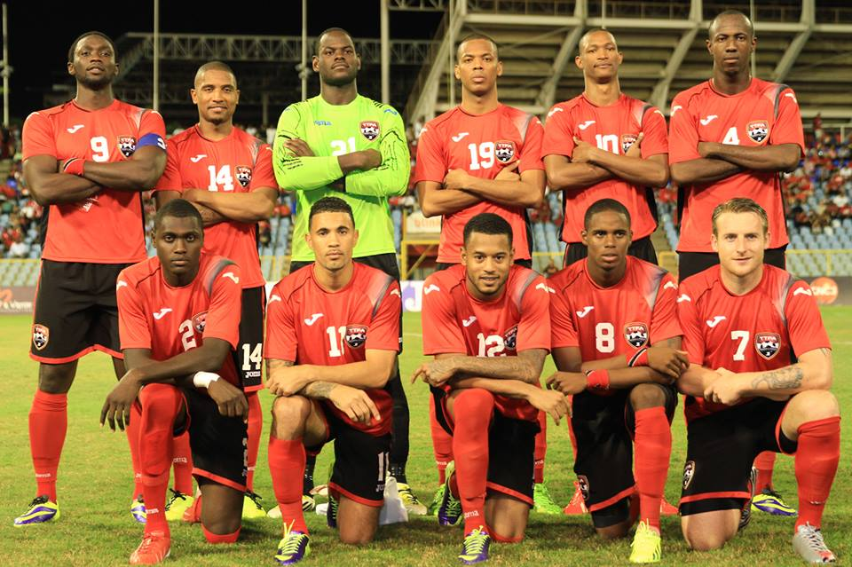 Guerra strikes again as T&T double up on Reggae Boyz. (PHOTO - Shaun Fuentes (TTFA Media).