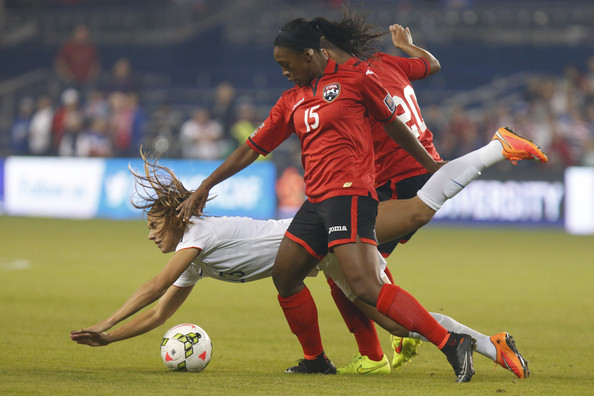 US-born duo in T&T women's squad.