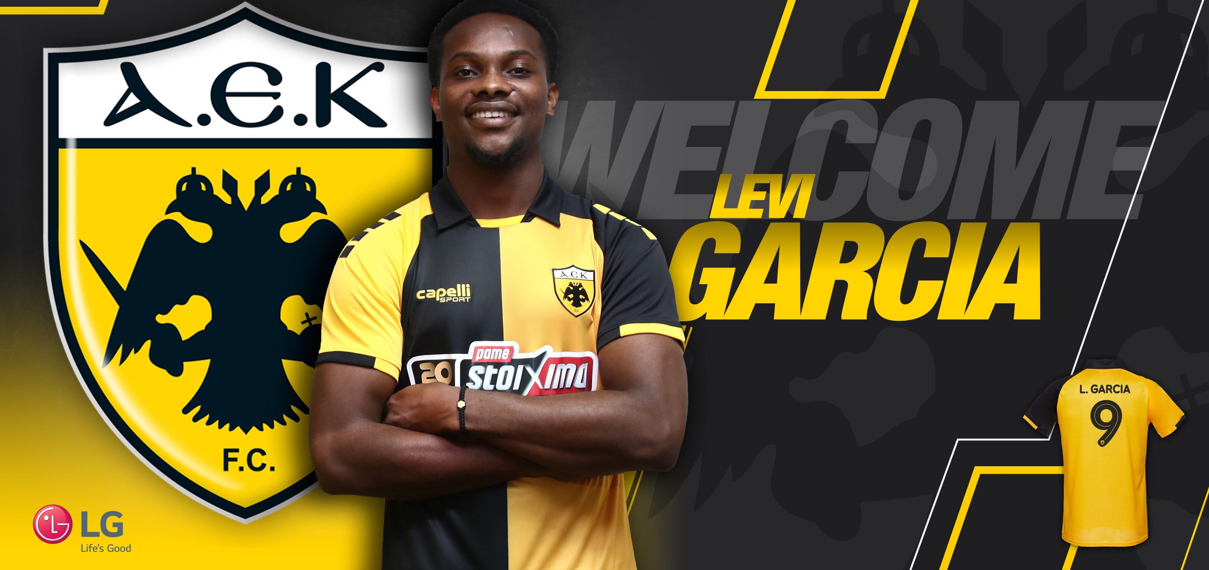 Levi Garcia joins AEK Athens for €2.2m.