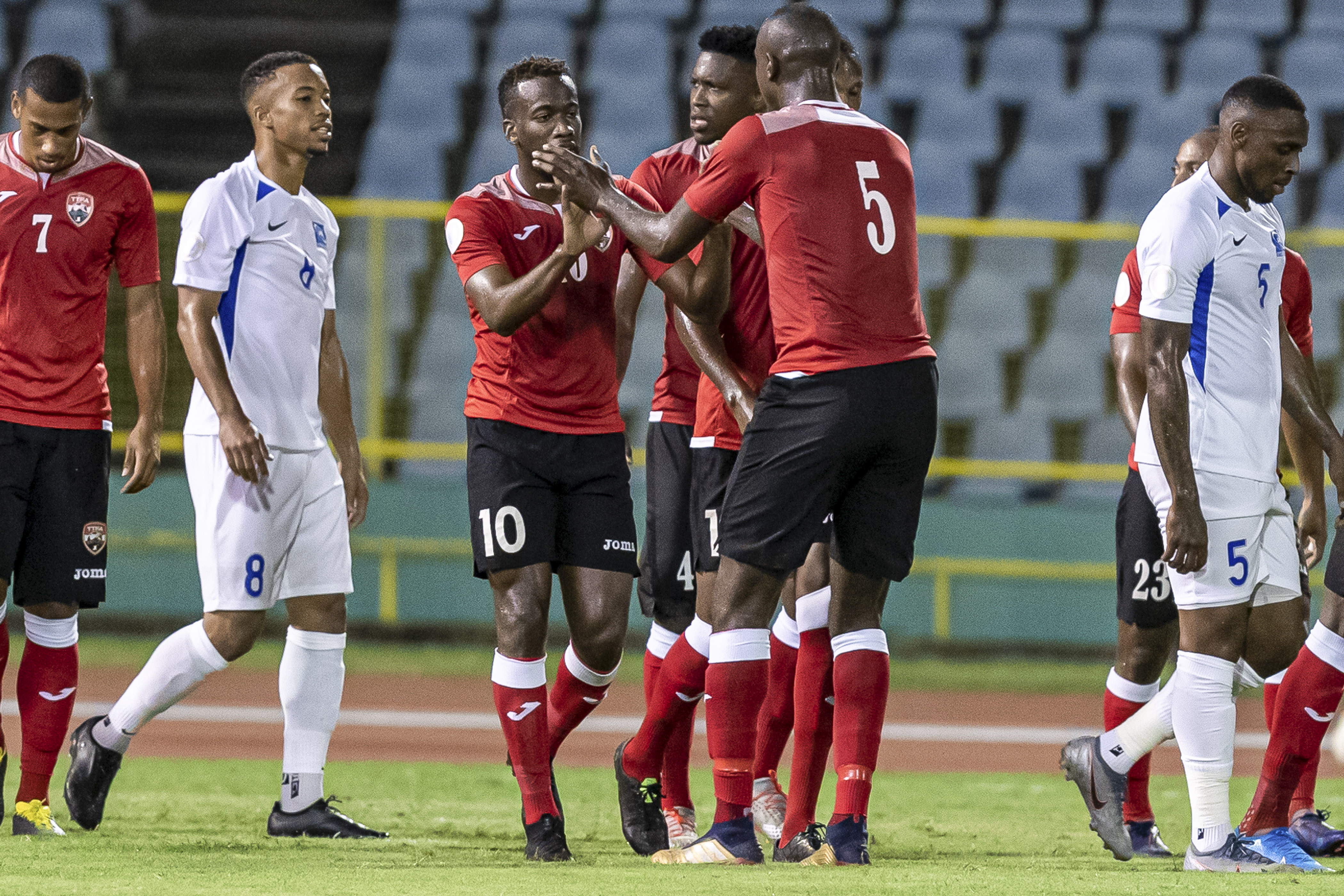 T&T play to 2-2 draw with Martinique in Nations League clash.