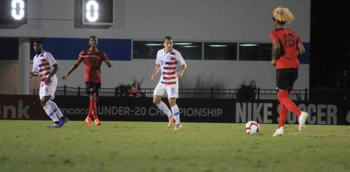 U-20s drop points to USA in third qualifier.