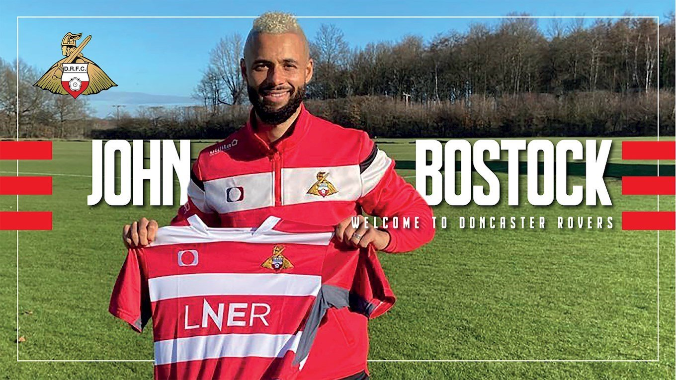 John Bostock signs with Doncaster Rovers
