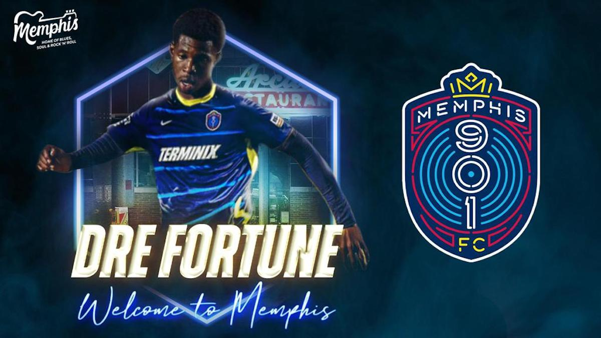 Memphis adds talented attacking midfielder, Dre Fortune, to squad