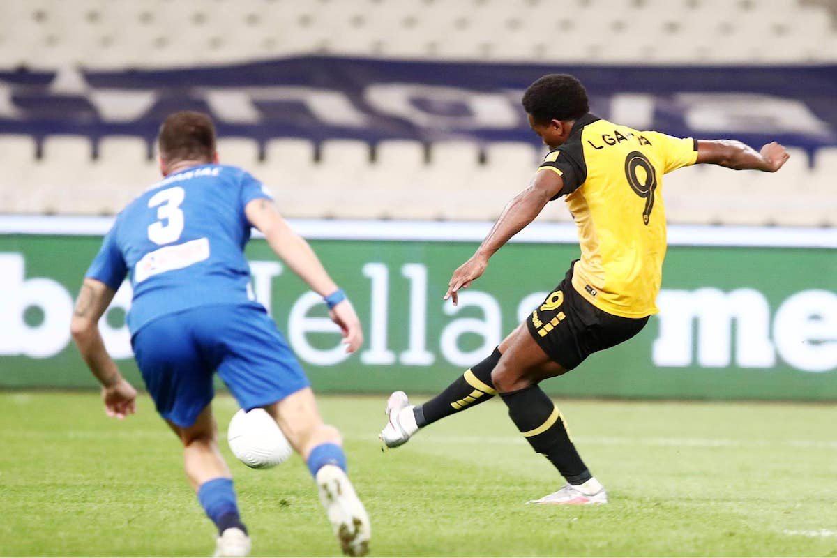 Garcia scores winner for AEK Athens.