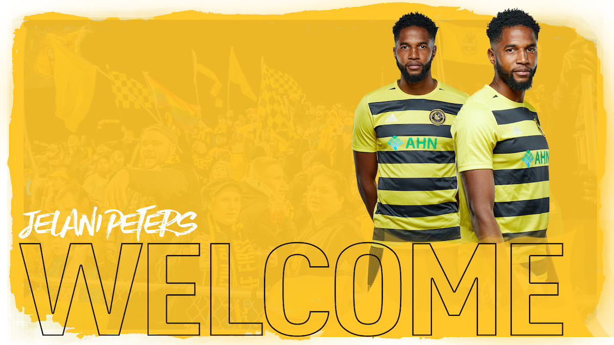 Defender Jelani Peters signed to one-year deal with Pittsburgh Riverhounds