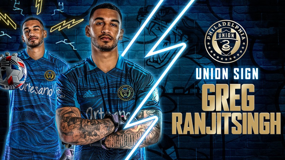 Philadelphia Union sign goalkeeper Greg Ranjitsingh